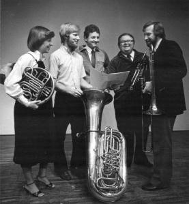(left to right)  Laura Klock, George Parks, Jeff Holmes, Walter Chesnut, David Sporny